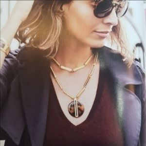 Stella And Dot Jaya Tortoise Necklace